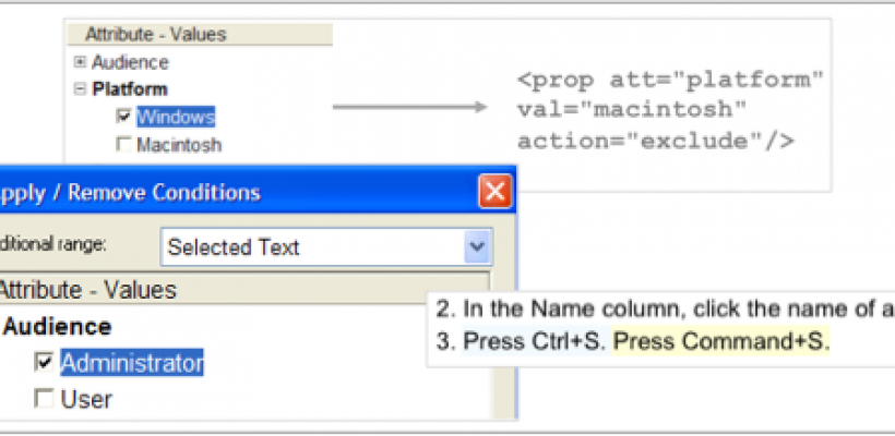 Designing XMetaL's Conditional Text Feature
