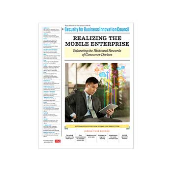 Realizing the Mobile Enterprise report cover